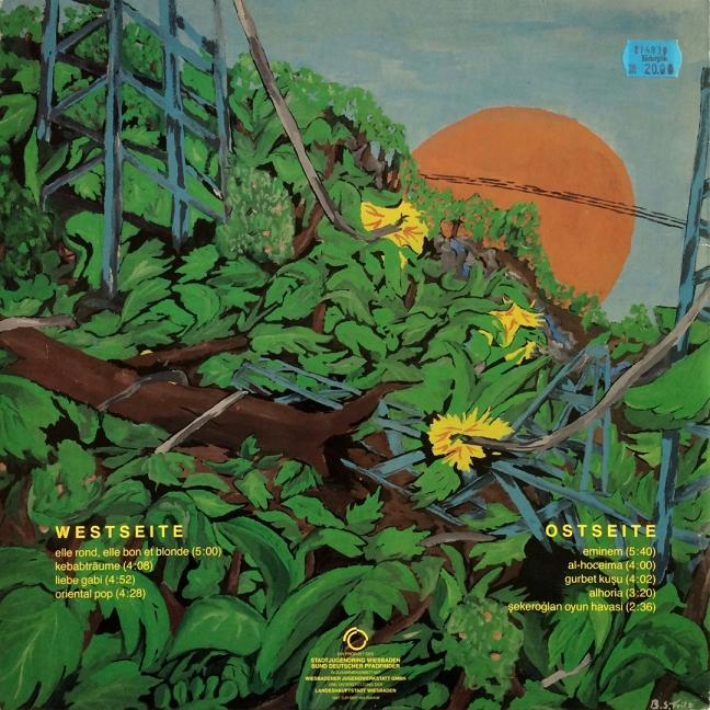 Backside / Elektro-Dschungel – Kebab und andere Träume, Second Edition, 1988