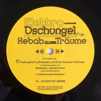Label Westseite / Elektro-Dschungel – Kebab und andere Träume, Second Edition, 1988