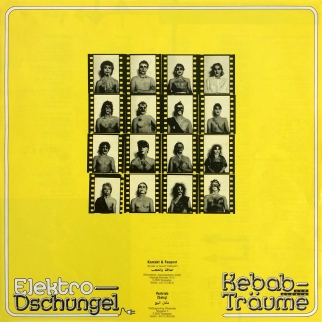 Insert (with NASPA logo!) / Elektro-Dschungel – Kebab und andere Träume, Second Edition, 1988