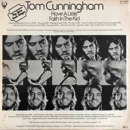 Tom Cunningham – Have A Little Faith In The Kid
