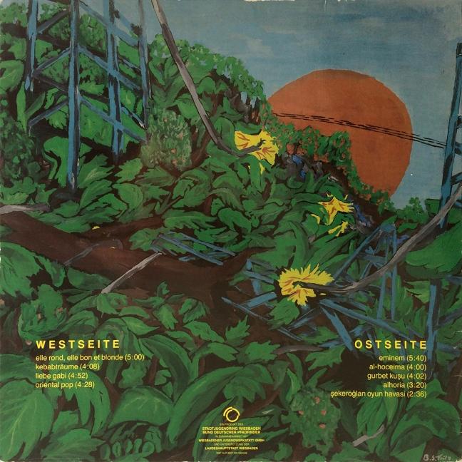 Backside / Elektro-Dschungel – Kebab und andere Träume, First Edition, 1987