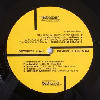 Label Ostseite / Elektro-Dschungel – Kebab und andere Träume, First Edition, 1987