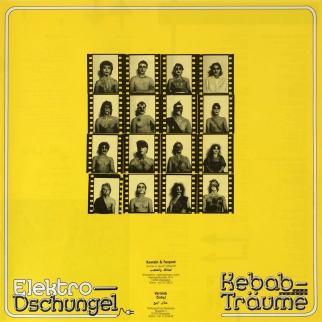 Insert (without NASPA logo!) / Elektro-Dschungel – Kebab und andere Träume, First Edition, 1987